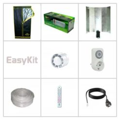 Kit Easy 250W CFL Grow Box 60X60X160cm-0