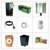 Kit coltivazione indoor Cocco 250W CFL-0