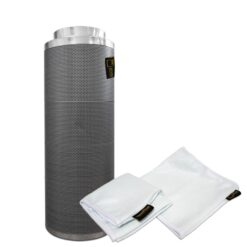 Filtro carboni attivi Pure Filter 125mm 500m3/h-0