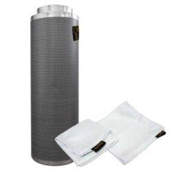 Filtro carboni attivi Pure Filter 150mm 680m3/h-0
