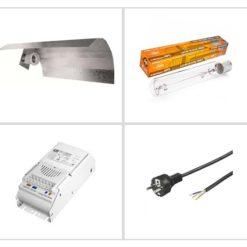 Kit luce Pure Light Agro 250W - Crescita e Fioritura-0