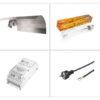 Kit luce Pure Light Agro 600W - Crescita e Fioritura-0