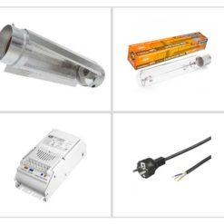Kit CoolTube Pure Light Agro 250W - Crescita e Fioritura-0