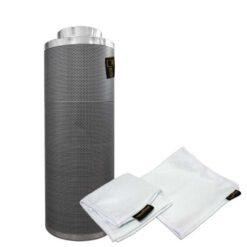 Filtro carboni attivi Pure Filter 100mm 350m3/h-0