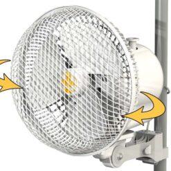 Ventilatore Monkey Fan Oscillante 2 Velocità 20W 21cm-0