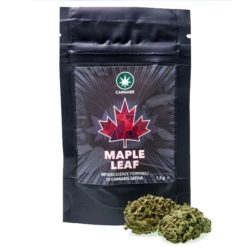 CannaBe Maple Leaf - Fiori interi di Canapa senza semi-0